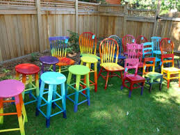 Best  Colorful Chairs Ideas On Pinterest Mismatched Chairs - Colorful patio furniture
