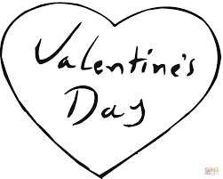 valentines day hearts coloring pages free printable valentine