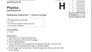 P  Paper Intro   Walking Talking Mock Exam   GCSE Physics Revison YouTube
