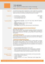 Best It Resume Sample by Sample Resume Download Doc Best Free Resume Collection