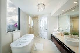 luxurious master bathrooms design