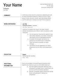 Entry Level Resume Examples by Download Templates For Resume Haadyaooverbayresort Com
