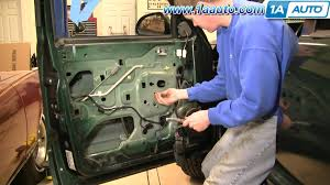 how to install replace power window regulator dodge durango 98 03