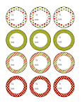 The Sweet Ashley Life: Christmas Printables