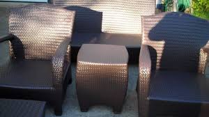 Spray Painting Metal Patio Furniture - painting outdoor furniture youtube