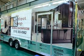 Kitchen Cabinets Showroom Mobile Showroom Exterior The Cabinet Shop