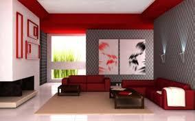 Modern Minimalist Living Room Decorating Design With Red Color - Minimalist living room designs