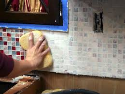 Tiling A Kitchen Backsplash Kitchen How To Install A Subway Tile Kitchen Backsplash M