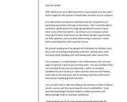 example of cover letter for sales assistant covering letter for a cv images cover letter ideas