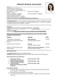 Ms Word Sample Resume by Best 25 Sample Resume Format Ideas On Pinterest Cover Letter