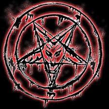 Satanic Pentagram. by