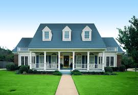 French Country Home Plans by Houses With Porches Further French Country Style Homes With Stucco