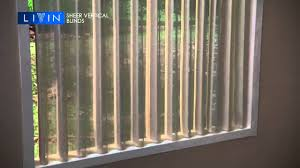 sheer vertical blinds by livin products pvt ltd new delhi youtube