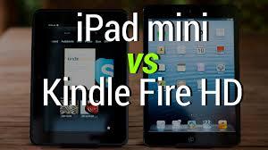amazon black friday kindle hd ipad mini vs kindle fire hd youtube