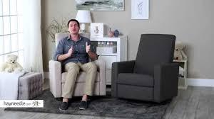Upholstered Glider Dutailier Minho Upholstered Reclining Swivel Glider Product