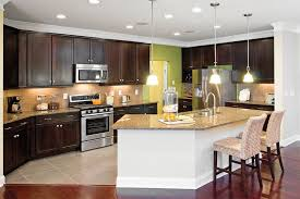Decorating An Open Floor Plan Kitchen Beautiful Open Floor Plan Kitchen Design Ideas With Dark