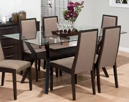 Dining Table Centerpiece Dining Table Glass Top 6 Chairs Home And Furniture
