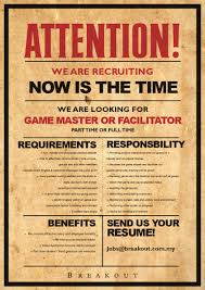 Job Resume Malaysia by Career Job Application Breakout Escape Game Malaysia