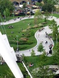 Urban Landscape Design by La Place Franco Mauresque Et Ses Jardins De Rocaille Landscape