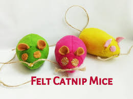 small halloween gifts felt cat toys felt catnip mouse toy for cats small catnip toys