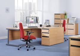 600mm deep desk high pedestal with two shallow drawers and one