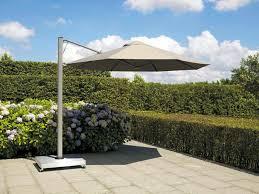 Offset Patio Umbrella by Offset Patio Umbrella Aluminum Acrylic Swiveling P7