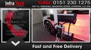 Auto Body Job Description Infrared Heat Curing U0026 Auto Body Parts Drying Youtube