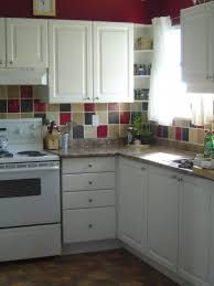 kitchen contemporary cheap backsplash ideas with combination of