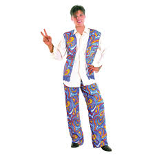 Flower Power Halloween Costume Men U0027s 1960s Flower Power Hippie Fancy Dress