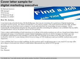 Email Marketing Cover Letter