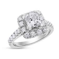 neil lane engagement rings 2 12 ct authentic neil lane engagement ring halo princess cut 14k