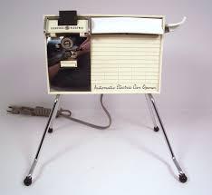 vintage 1960 u0027s general electric can opener retro vintage mid