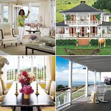 Heather Dubrow Mansion Oprah Winfrey U0027s Houses In Montecito And Maui Popsugar Home