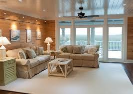 decoration fresh living room design with beadboard ceilings and
