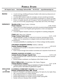 Sample Student Resume How To Write sample resume  templates high
