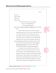 Annotated Bibliography Sample APA Format