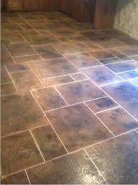 Kitchen Floor Ideas Pictures Kitchen Floor Tile Patterns Concrete Overlay Random Pattern