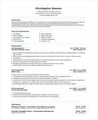 Sample Of Receptionist Resume by Receptionist Resume Templates 7 Receptionist Resume Templates