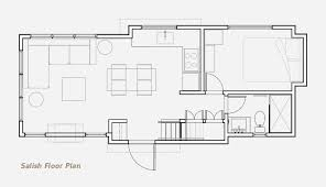Small Cottage Floor Plan The Salish Floor Plan Residential Park Models U0026 Small Homes