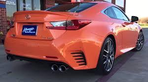 lexus rc modifications 2015 lexus rc 350 f sport custom dual system by kinney u0027s youtube