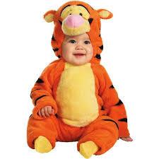 Winnie Pooh Dog Halloween Costume Winnie Pooh Tigger Deluxe Plush Infant Halloween Costume