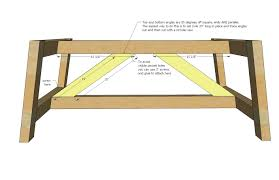 Free Woodworking Plans Round Coffee Table by Free Woodworking Plans Coffee Table Discover Projects Outdoor Thippo
