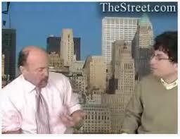 Jim Cramer and James Altucher The Street.com