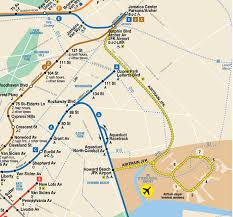 Subway Nyc Map by How To Get From Manhattan To New York U0027s Jfk Airport Triphoney Com