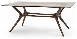 Latest Mid Century Modern Glass Dining Table Mid Century Dining - Century dining room tables