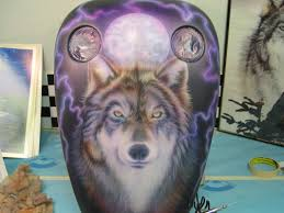 Wolf Mural by Wolf Mural Pastrana Unlimited