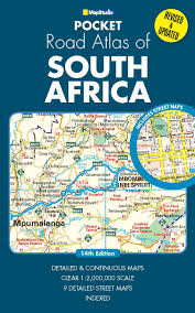Africa Map Game by Pocket Road Atlas South Africa Mapstudio