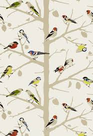 Powder Room In French Sarah U0027s House Powder Room Bird Wallpaper Source Powder Room