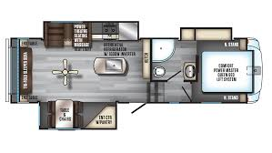 Fifth Wheel Bunkhouse Floor Plans Arctic Wolf Rv New U0026 Used Rvs For Sale Lakeshore Rv