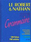 Livre - Le Robert Et Nathan, Grammaire - Le Robert - ACHETER ...
